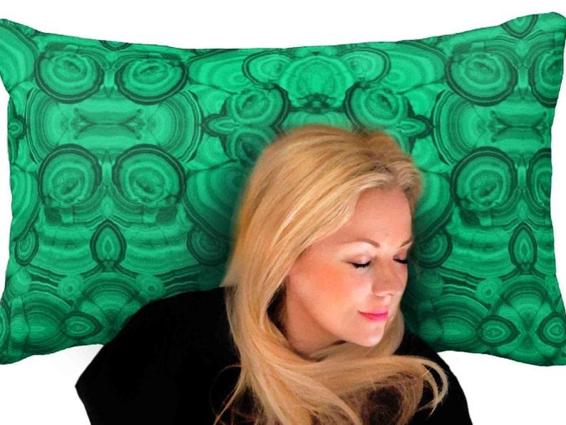 Malachite Bed Pillowcases Malachite Pillowshams Malachite Cotton Pillowcases