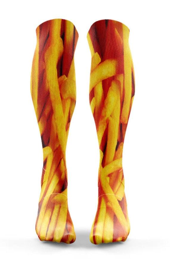 überlegene Leistung Schnäppchen für Mode neue niedrigere Preise Pommes frites Socken