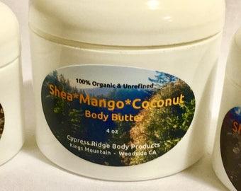 Shea * Mango * Coconut Body Butter