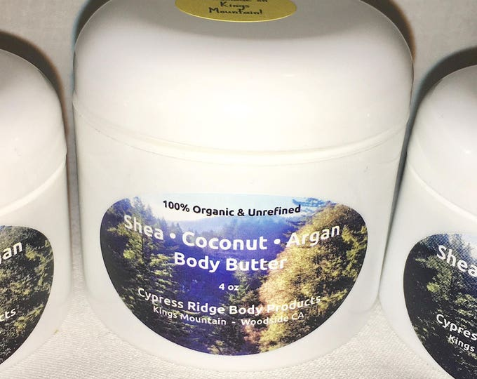 Shea * Coconut * Argan Body Butter