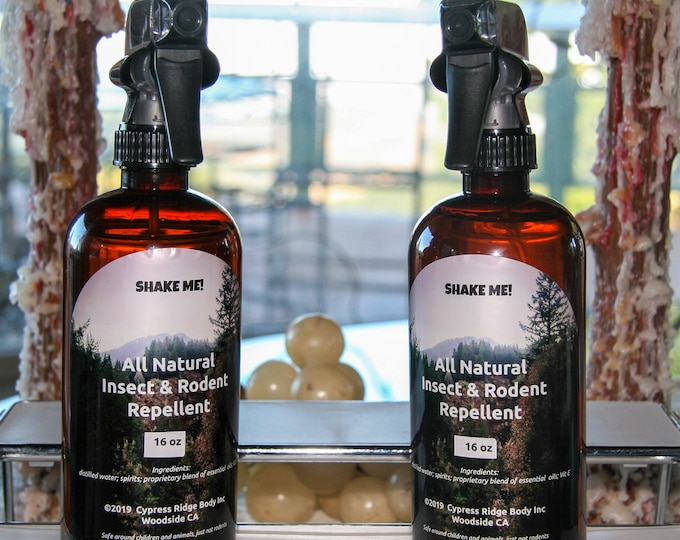 All Natural Insect & Rodent Repellent