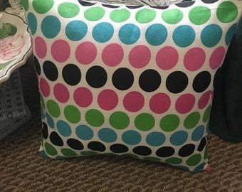 Polka Dot Pillow Cover