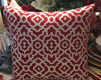 Red Pillow Cover
