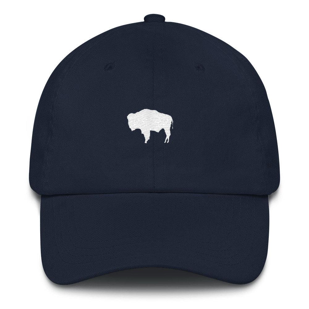 Wyoming Dad Hat - Wyoming Hat - Wyoming Bison - Wyoming - Wyoming Flag -  Wyoming Flag Hat - Bison - Bison Hat - Bison Dad Hat - WY