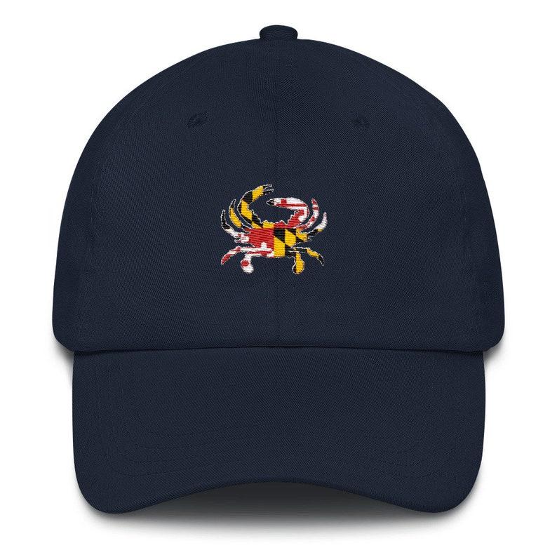 ba7f58d78b0a9 Maryland Dad Hat Maryland Hat Maryland Maryland Crab