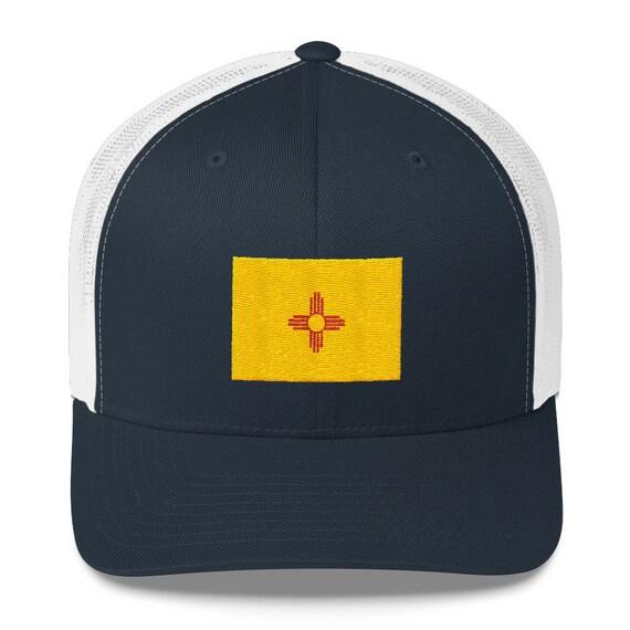 New Mexico Hat New Mexico Flag New Mexico Zia Zia Hat Etsy