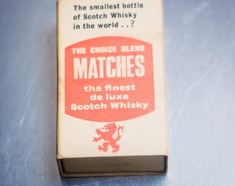 The smallest bottle of Scotch Whisky.