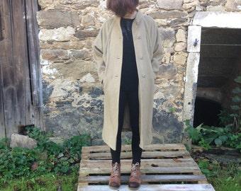 Vintage woolen winter coat