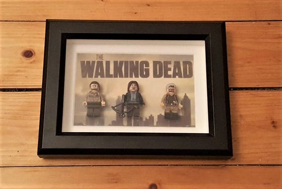 The Walking Dead Frame Etsy