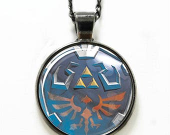 Legend of Zelda Necklace Pendant with chain
