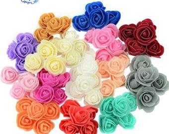 Fake Flower 144-heads PE Foam Flower Small Rose Flower Simulation Bouquet Craft