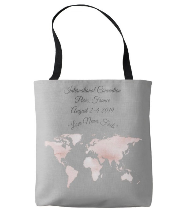 Jw International Conventions| Jw 2019 Love Never Fails tote bag| Jw  convention 2019 tote bag| Jw 2019 tote bag | Jw assembly tote| Jw gifts