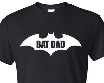 6a9156448 FATHERS DAY GIFT Dad Gifts Gift Bat Dad Batman Novelty Funny Mens T Shirt  Design Tee Shirt Husband Boyfriend Groom Daddy Brother Men Grandad