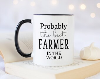 I Love my New Holland 2 Style Gift Boxed Tractor Mug Cup Farming Gift