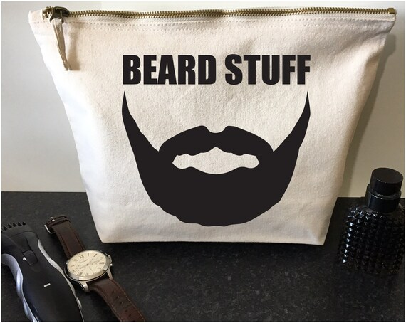 Beard Kit Bag BEARD STUFF Dad Gifts Gift For Him Gifts For  ae93f31385a1c