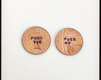 Decision Coin Etsy