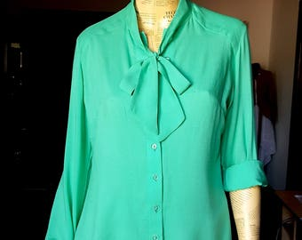 SHIRT GREEN ROMANTIC