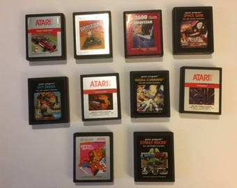 Atari 2600 Video Game Cartridge Set (10 cartridges)