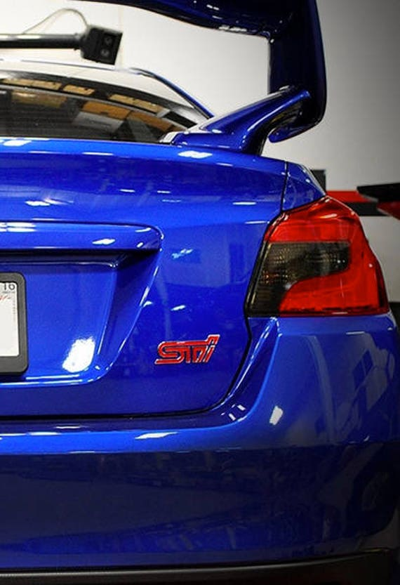 20/% Dark Smoke Precut Vinyl Tint Cover for 2008-2014 Subaru WRX Taillights Hatchback
