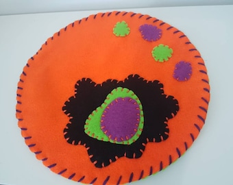 Halloween Themed Felt Play Mat/ Small World Play/ Imaginitive Play/ Play/ Learning/ Waldorf/ Motessori/ Spooky/ Halloween