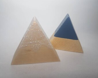 Wooden Icy Mountains/ Wooden Toys/ Play/ Toys/ Montessori/ Waldorf/ Open Ended Play/ School/ Nursery