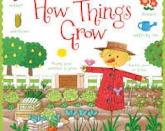 Usborne, How Things Grow, Book