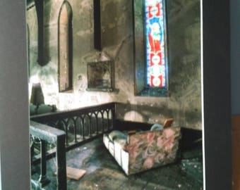 The Pew of Holy Innocents - 16 x 20 photographic wall art