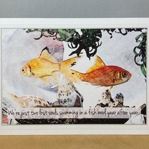 Goldfish ValentineCustom fish bowl valentine School Valentines Cards  Edit yourself kids valentines