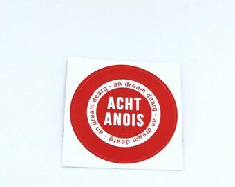 Acht Anois Small Sticker Irish Ireland