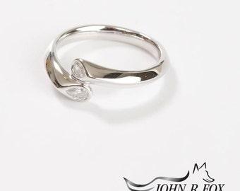 Tulip Ring Eighteen Carat. John Fox