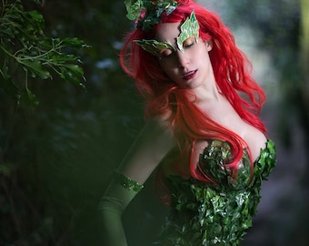 Poison Ivy Batman Hero movie inspired costume & Poison ivy costume | Etsy