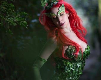Poison Ivy Costume Etsy