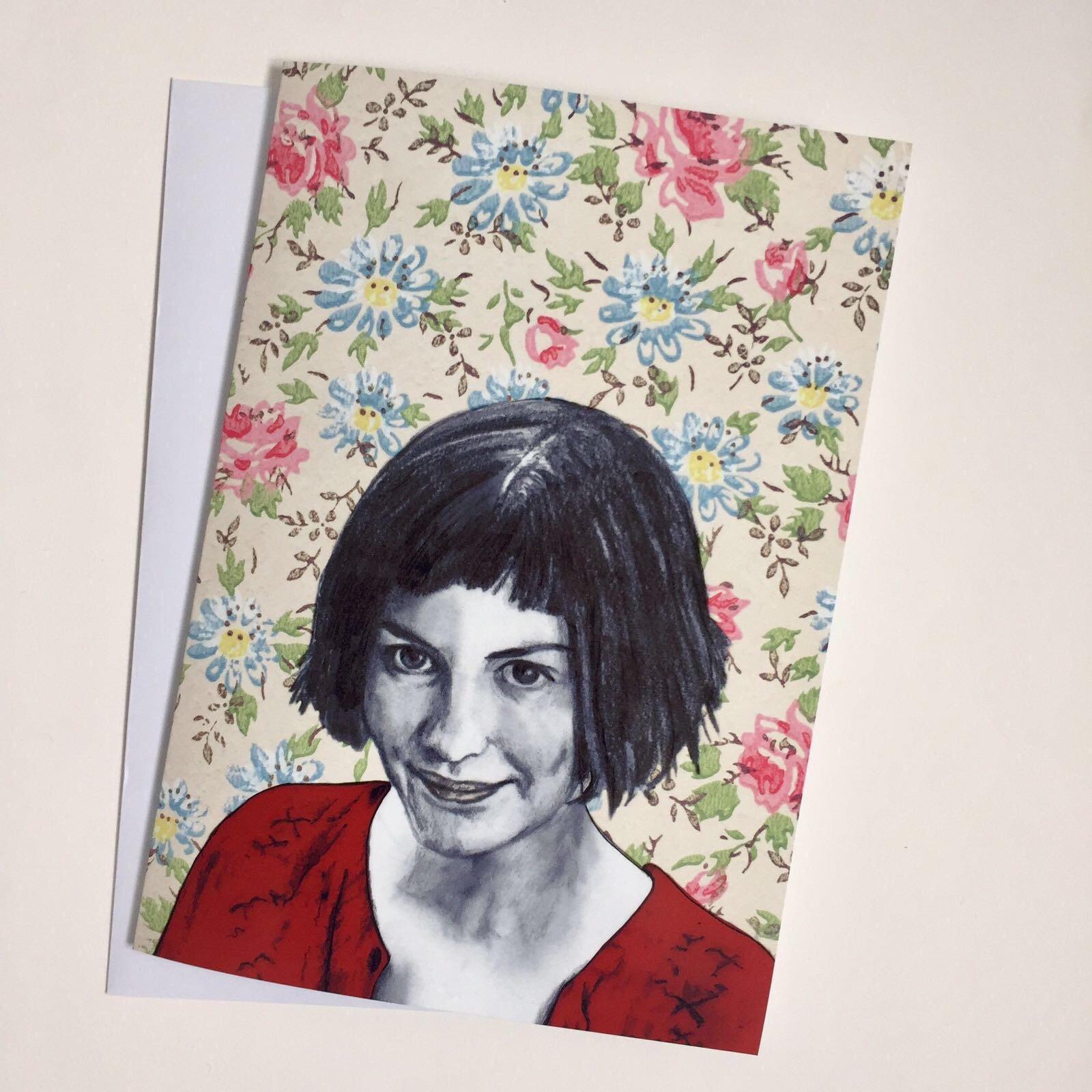 Женская, открытки амели пулен