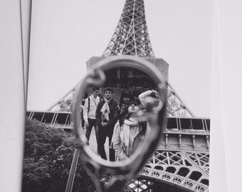 Paris Photographic A5 Card - The Eiffel Tower