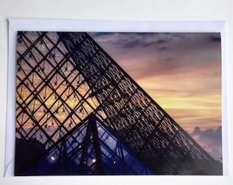 Paris Photographic A5 Card - The Louvre