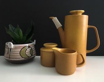 J & G Meakin Maidstone Marigold Teapot Set