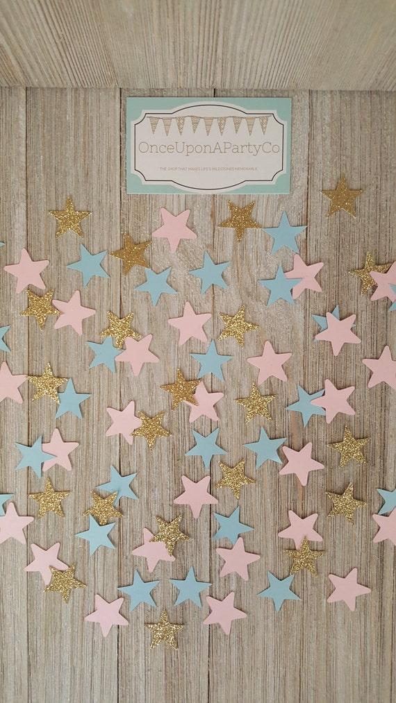 Gender Reveal Twinkle Little Star Gender Reveal Party Star Etsy