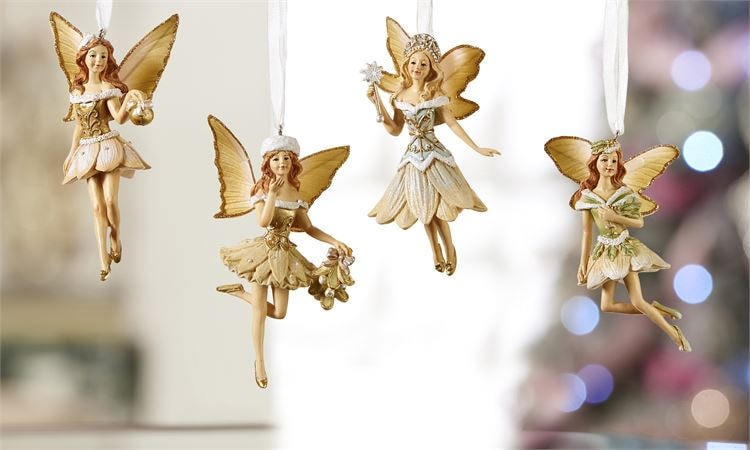 Singles or Sets of Christmas Ornaments - Christmas Angels - Christmas  Fairies - Holiday Ornaments - Holiday Decor - Angel gifts - Fairy gift - Singles Or Sets Of Christmas Ornaments - Christmas Angels
