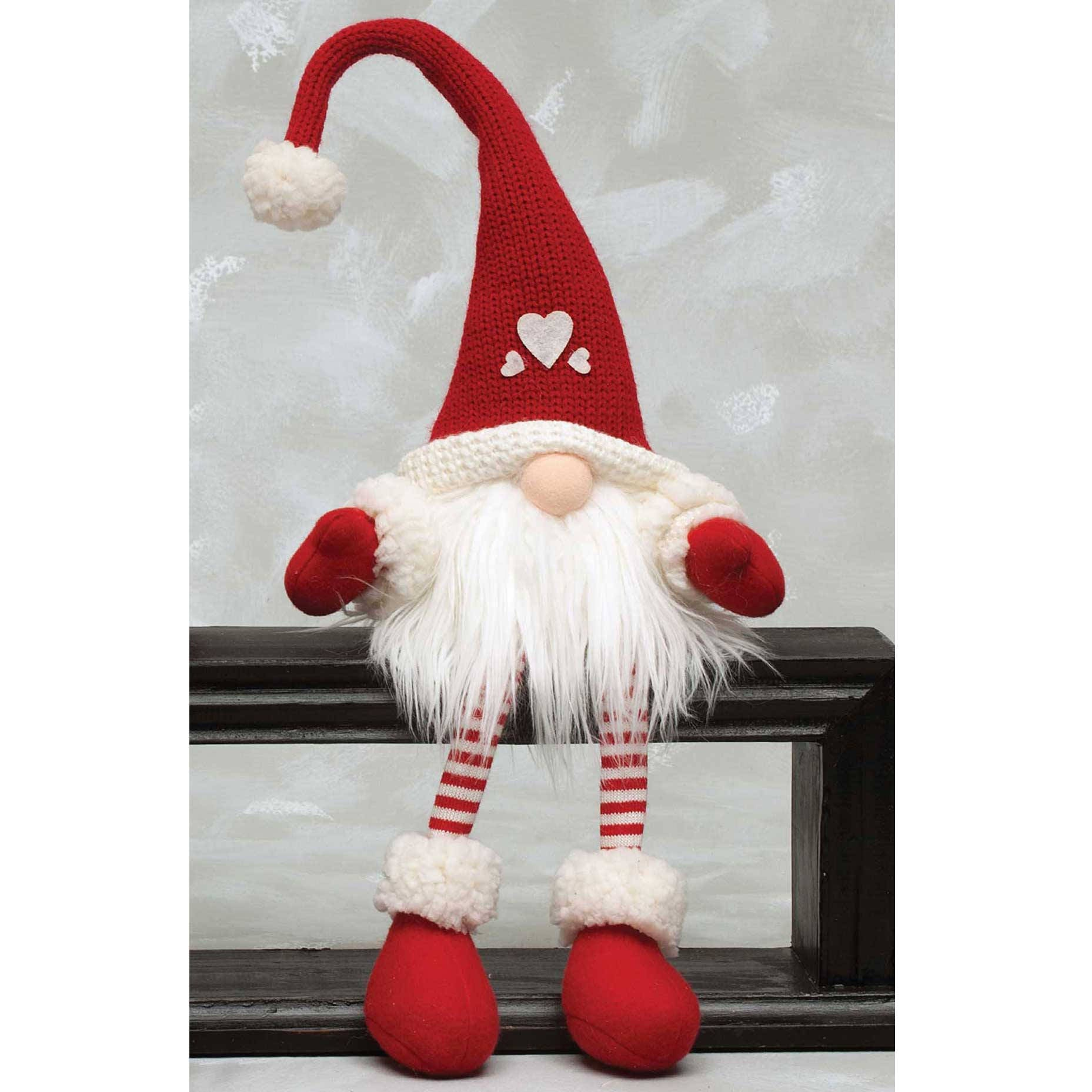 Holiday Heart gnome 24 or 36 tall - Valentine\'s Day Gnomes ...