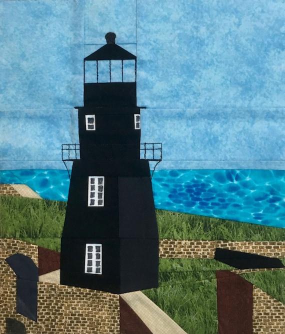 Garden Key, FL Lighthouse quilt pattern