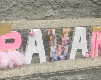 Princess Themed Letters