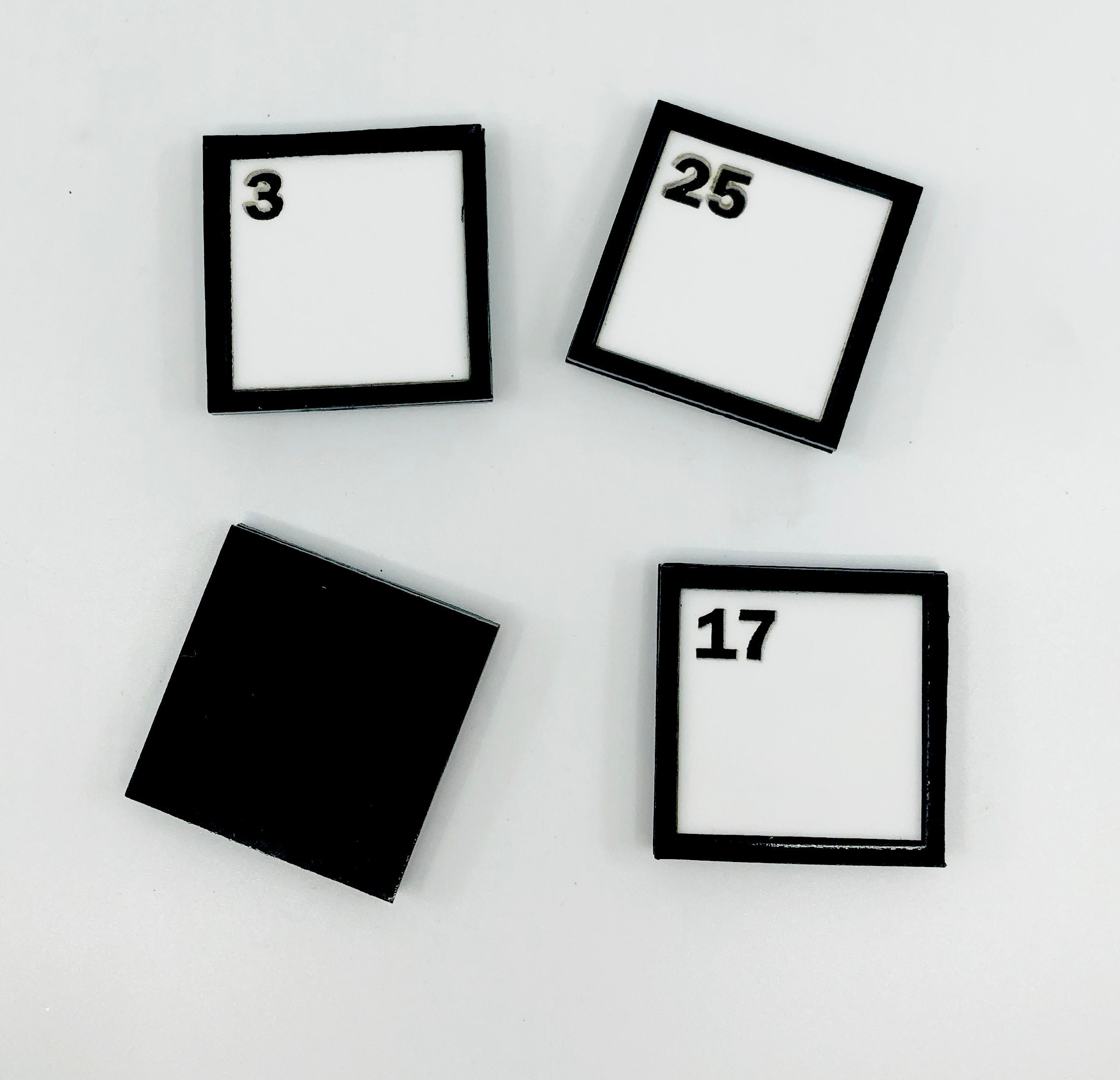 Crossword Magnets Puzzle Geeky Gift Word Nerd Laser Cut Acrylic Magnets Crossword Puzzle Magnets Geek Chic Nerdy Magnets