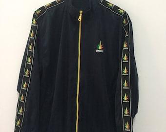 Détails sur Veste JAMAIQUE Vintage Jacket Jamaica Homme Kappa Sport retro rasta XXL
