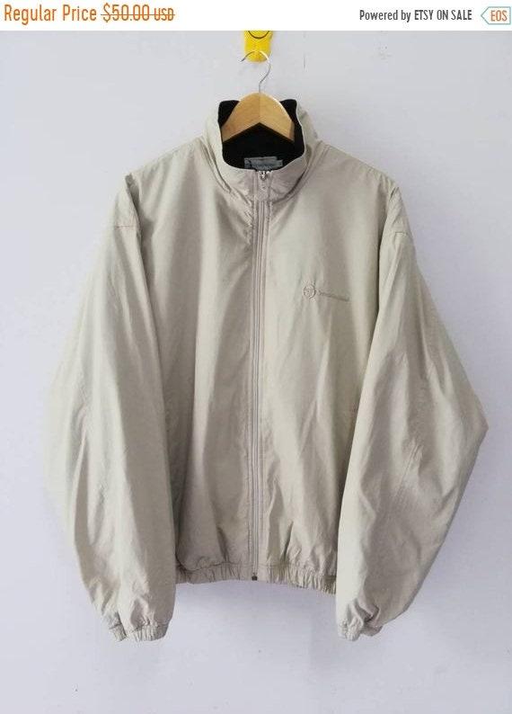 SALE 40% Vintage 90s Sergio Tacchini Jacket Windbreaker Size L