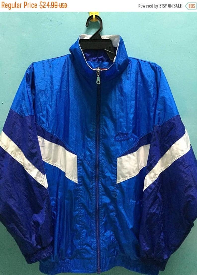 f7b6b692d SALE 10 % Vintage 90s Nike windbreaker Jacket Hip Hop Size XL | Etsy