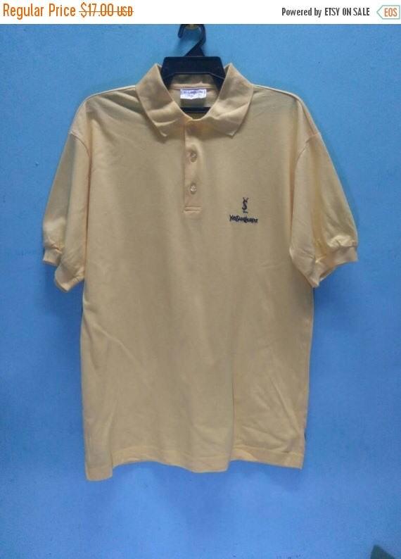 VENTE 10 % 90 Vintage Yves Saint Laurent Tshirt taille M