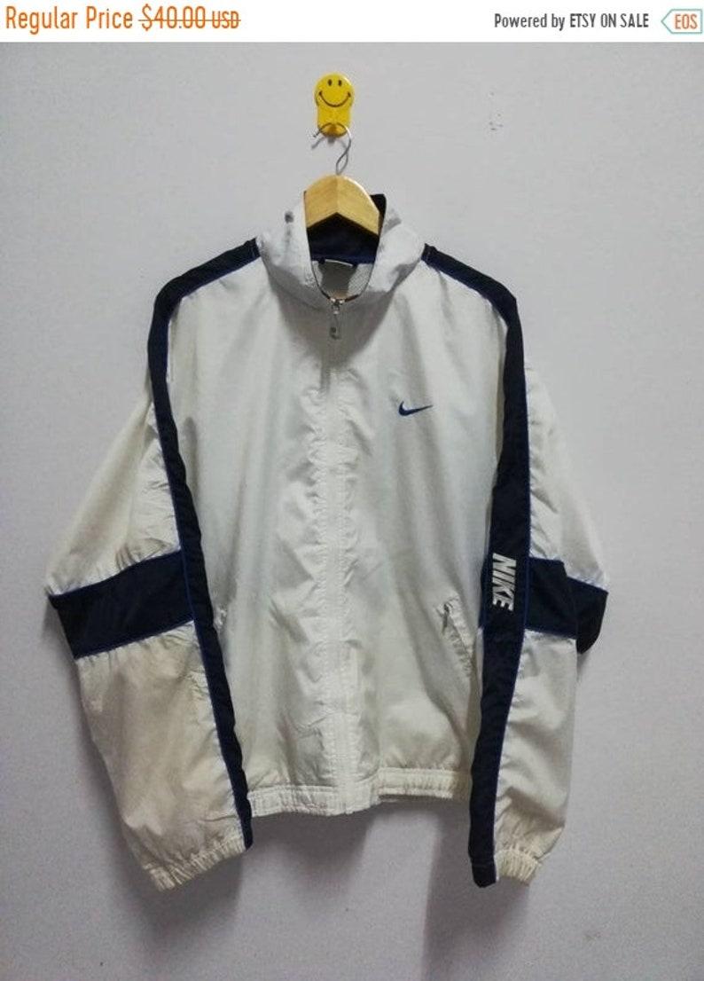 f2c175522 25% Vintage 90s Nike Windbreaker Jacket Hip Hop Size L | Etsy