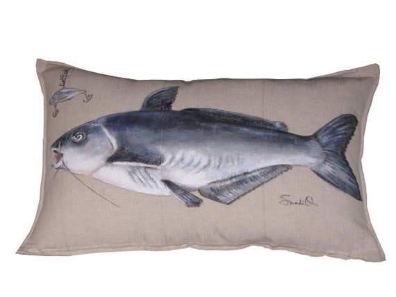 1 Lumbar Pillow, Catfish