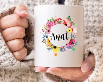 Floral Filth Flower 'Anal' The Most Offensive Yet Classy Gift Ever 11oz MUG