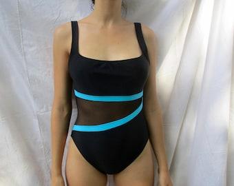 Vintage ANNE COLE swimwear - body suit 109e086bd0d